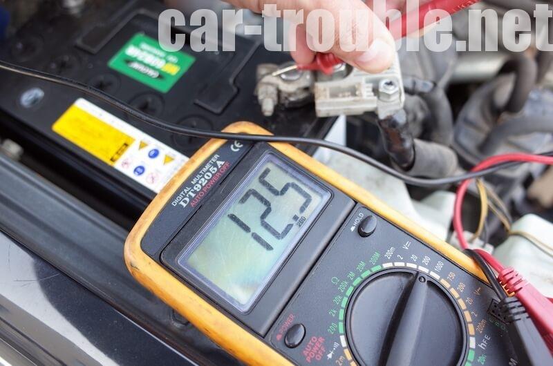 念のため電圧計測