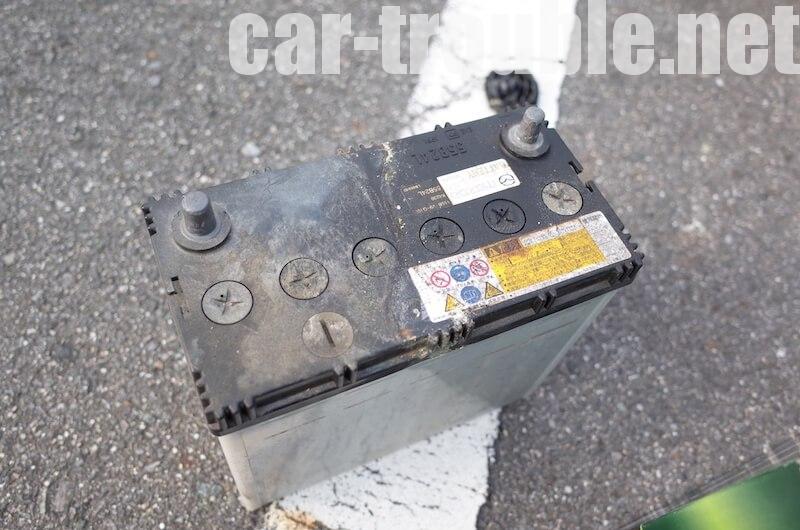 外したバッテリーは、専門業者に廃棄を依頼