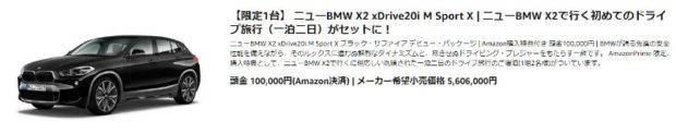 ニューBMW X2 xDrive20i M Sport X